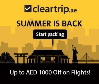 Cleartrip.ae Summer Offer